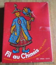BOITE PH. VRAU  FIL AU CHINOIS / 23 PELOTES DE 50 METRES LIN NOIR 100