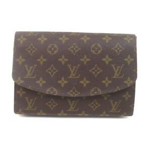 Louis Vuitton LV Clutch Bag M51940 Rabat Browns Monogram 1729191