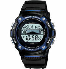 Casio Moon/Tide Watch, Solar, Black Strap, 5 Alarms, 100 Meter WR, WS210H-1AV