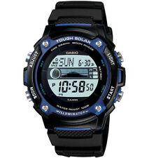 Casio WS210H-1AV, Moon/Tide Watch, Solar, Black Strap, 5 Alarms, 100 Meter WR