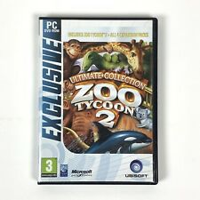 Zoo Tycoon 2: Ultimate Collection - Includes All 4 Expansion Packs (PC, 2008)