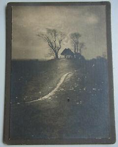 Expressionistisches Photo Bremen Um 1900: Landscape (Krähenberg / Stadtwerder)