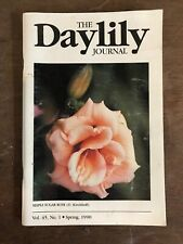 The Daylily Journal Spring 1990