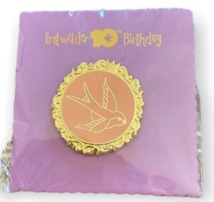 Erstwilder 10th Birthday Commemorative Enamel Pin Brand New