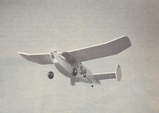 R/C Twin Lizzie Old Timer Sport Plane Plans, Templates and Instructions 58ws