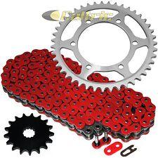 Red O-Ring Drive Chain & Sprockets Kit Fits SUZUKI GSX-R750 GSXR750 2011-2016