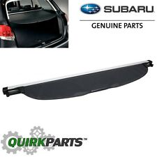 OEM 2009-2013 Subaru Forester Rear Retractable Tonneau Cargo Cover 65550SC002JC