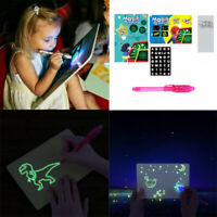Magic Drawing Board Draw With Light Fun And Developing Toy Educational Tool