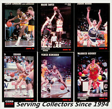 1992 Stops NBL Australia Basketball Card Full Base Card Set (89) --RARE!!