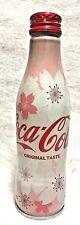 Coca Cola Aluminium Bottle 2018 Sakura Cherry Blossom Limited Full Japan F/S T/N