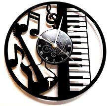 OROLOGIO DA PARETE Tastiera Note Piano  - CHITARRA MUSICA IDEA REGALO