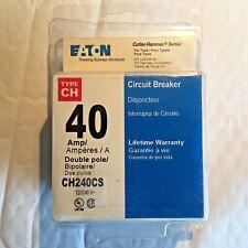 Eaton Chf240Cs/Ch240Cs Double Pole Circuit Breaker, 40 Amps
