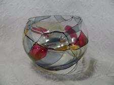 "Partylite Mosaic Votive Tealight Candle Holder Glass Bowl 4"" ~ EXCELLENT"