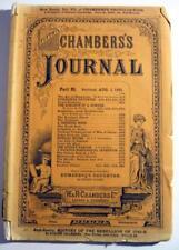CHAMBERS'S JOURNAL ~ 1891 Magazine of Short Stories
