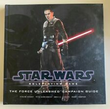 Star Wars Roleplaying Game THE FORCE UNLEASHED Campaign Guide - Hardcover