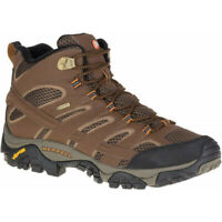 Mens Merrell Moab 2 Mid Gore-tex Mens Walking Boots - Brown