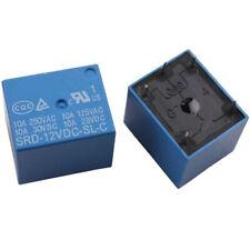 5pcs 12V DC Mini 5 Pin Plastic Coil Power PCB Relay SPDT LA3