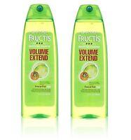Pack of 2 Garnier Fructis Volume Extend Shampoo 13 fl. oz. each Fine Flat Hair