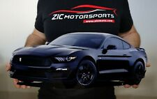 """2019 Ford Mustang Shelby Cobra GT350 GARAGE STEEL SIGN  23"""" x 10"""" SHADOW BLACK"""