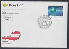 Österreich Austria 2005 FDC Mi.2517 Polarlandschaft Erde Rotary Earth [af039]