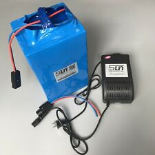 48V 30AH LiFePO4 Batteries 5A charger BMS Electronic Rechargeable Power Supply