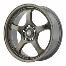 "Motegi 17x8 MR131 Wheel Matte Bronze 5x4.5 / 5x114.3 PCD +40mm Offset 6.07""BS"