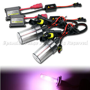 HIGH END USA 35W 9006/HB4 SLIM HID KIT FOR LOW BEAM LIGHTS AC 12000K PINK JDM