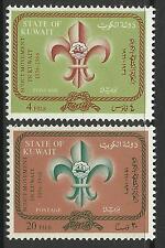 Briefmarken aus dem mittleren Osten mit Pfadfinder-Motiv