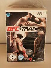UFC entrenadores personales incluyendo pierna correa de Wii nuevo con embalaje original a9418
