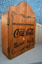 Vintage 1993 Edition Wooden Coca Cola Cabinet