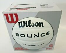 Wilson BOUNCE Indoor / Outdoor / Beach Official Size Volleyball All Ages, White