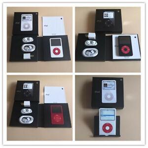 Latest Model,CUSTOM Apple iPod Classic 5th Gen U2  Black / White (80GB) Video