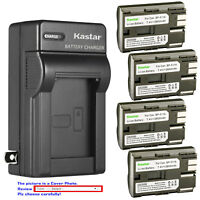 Kastar Battery Wall Charger for Canon BP-511 BP-511A Canon ZR70MC ZR80 ZR85 ZR90