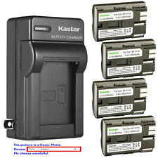 Kastar Battery Wall Charger for Canon BP-511 BP-511A & EOS 40D EOS 50D EOS D30