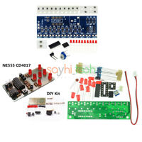 NE555 CD4017 Scrolling Red Light SMD unsoldered DIY Kit Soldering HOT sale BRY