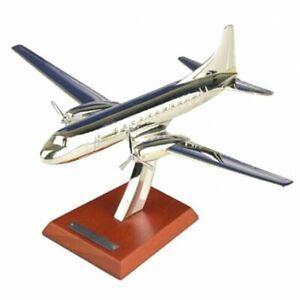 Convair CV-340 1951 1:200 plane Airplane Silver Classic Diecast