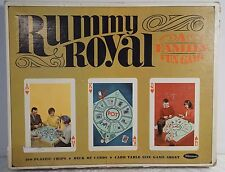 Vintage 1965 Whitman Rummy Royal Game Set with Chips, Cards, Mat Fun Family Game