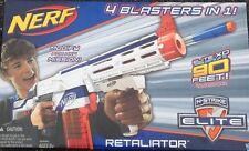 Nerf Retaliator N-Strike Elite XD 4 Blasters In One Fires Darts Up To 90 feet