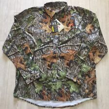 Under Armour Performance Hunting Field Mossy Oak Button Down 1235494-940 XL