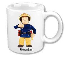 Fireman Sam Mug perfect gift  personalised free with name