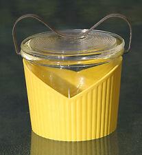 Egg Coddler Glas mit Behältnis - !!! Jenaer Glas !!! Design Wagenfeld !!!