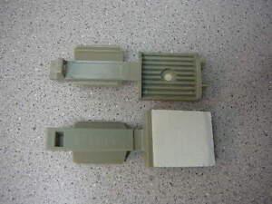 PANDUIT Adhesive Backed Latching Flat Cable Holder Gray **NEW** Qty.5