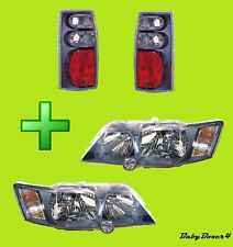 Wagon BLACK Head & Tail Lights for Holden Commodore VY Ute Right Left Hand Side
