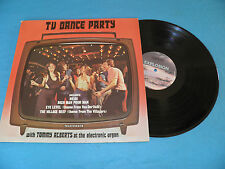 Tommy Alberts Electronic Organ - TV Dance Party - RARE S.A. LP Cool 70's Sleeve