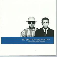 PET SHOP BOYS CD: Discography/Complete Singles Collection