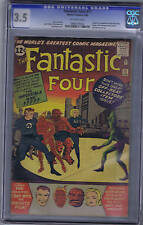 Fantastic Four #11 Marvel 1963 CGC 3.5,Origin & 1st appearance Impossible Man