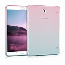 Crystal Funda TPU de silicona para Samsung Galaxy Tab s2 8.0 dos colores transparentes