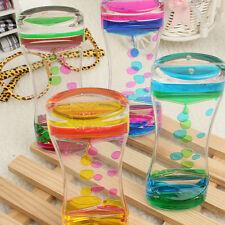 Floating Color Liquid Motion Timer Mix Illusion Oil Clock Visual Desk Toy Decor