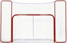 """WINNWELL Hockeytor 72"""" + Backstop (Fangnetz) 72"""" Streethockey / Straßenhockey"""