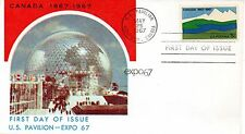 US FDC #1324 Canada, (6183)
